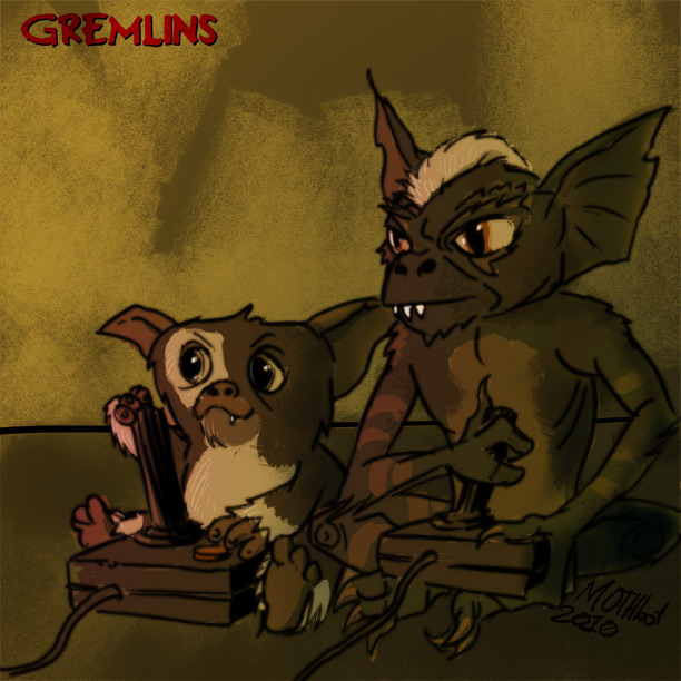 Gremlins Battle por mothbot