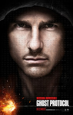 Tom Cruise dans Mission Impossible 4