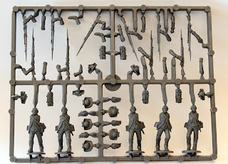 Perry Miniatures AWI British Infantry AW200 - Infantry Sprue
