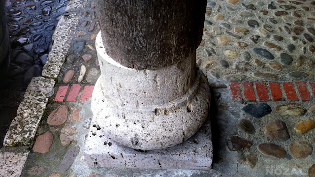 El pilar de la Plaza Vieja de Saldaña, 2015 Abbé Nozal