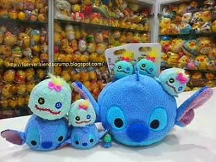 2015 Japan DS Stitch & Scrump Tsum Tsum Collections