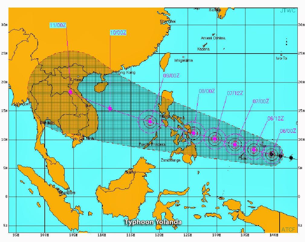 Oil-Electric: Haiyan or Yolanda?