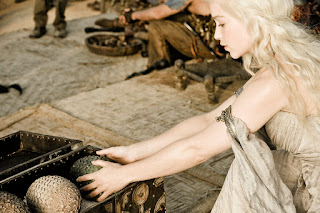 Emilia Clarke Daenerys  Targaryen Dragon Eggs Game of Thrones HD Wallpapers