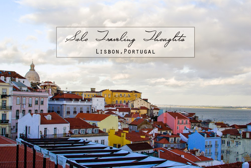 Solo female traveling in lisbon portugal