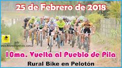 10ª Vuelta al Pueblo de Pila - 25/02/2018