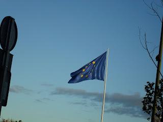 Bandera de Europa, Glorieta de San Vicente (Madrid)