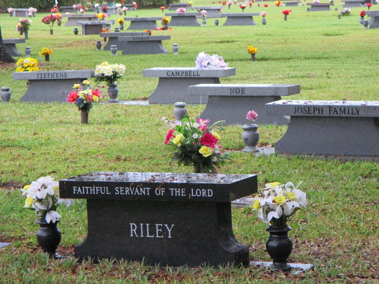 CREMATION GARDEN And MEMORIAL BENCHES