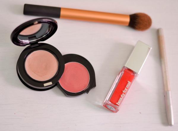 Beauty Review   Beauty For Real Light Up Lip Gloss + Cheek Tint & Luminizer