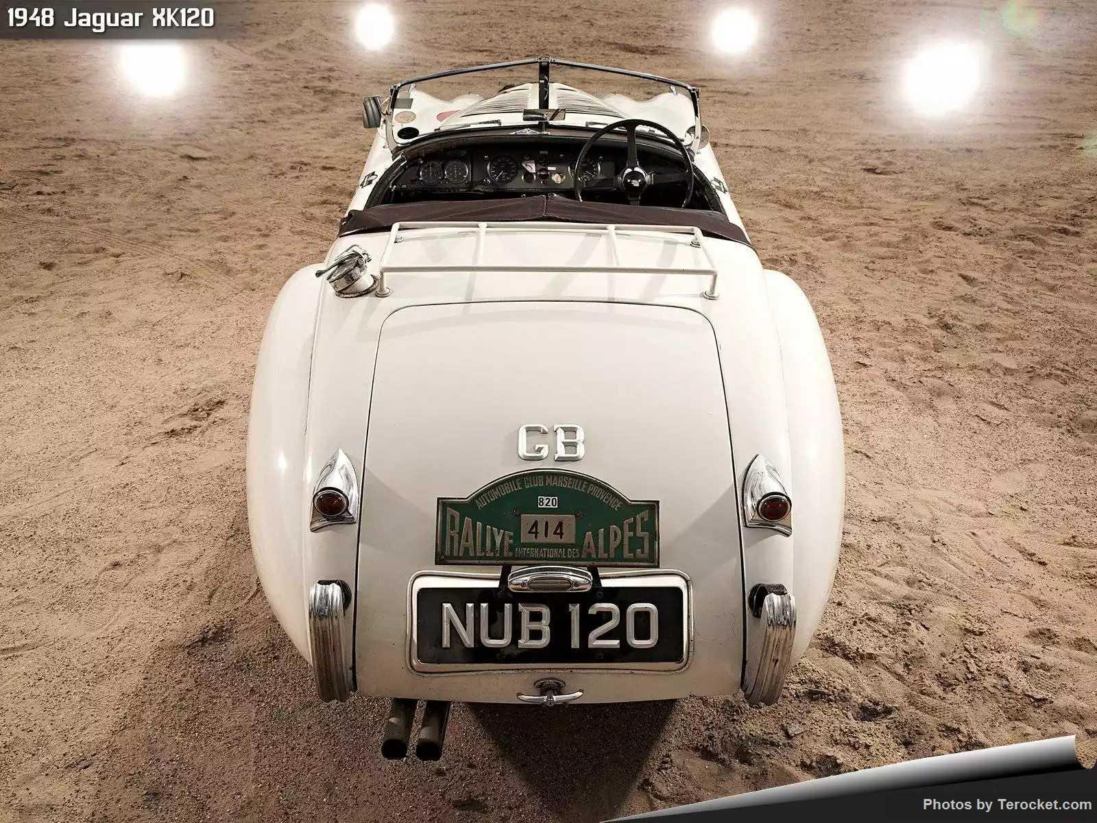 Hình ảnh xe ô tô Jaguar XK120 1948 & nội ngoại thất