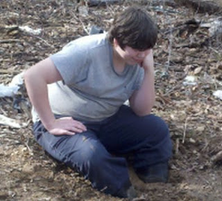 Life with the Gravitts, clumsy teenage years, stuck in the mud, poor Bubba