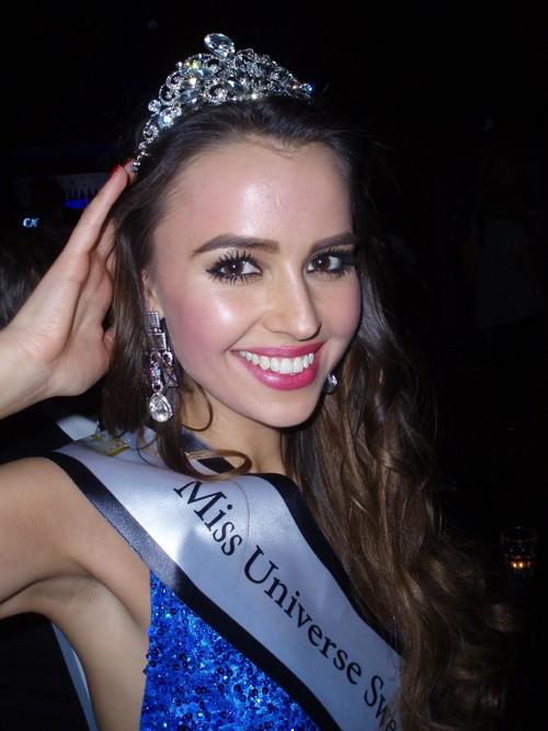 Miss Universe Sweden 2014 Camilla Hansson