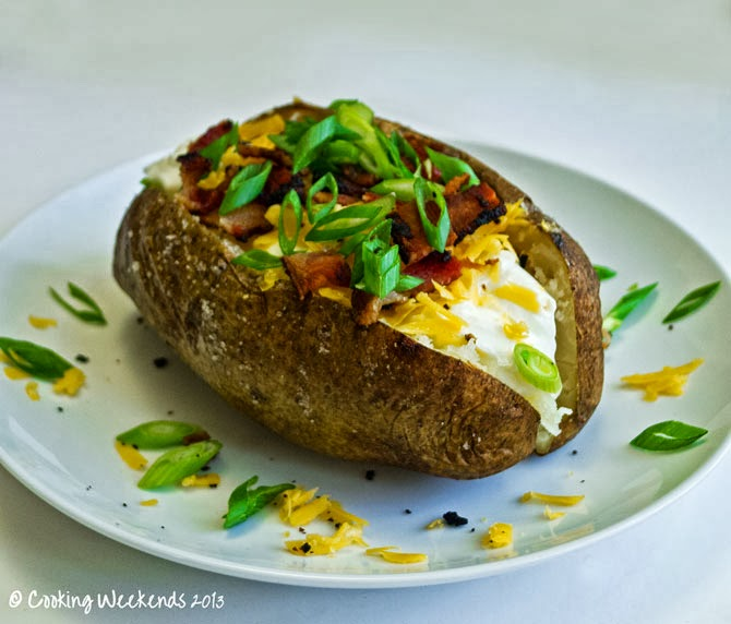 Cooking weekends baked potatoes for Different ways to cook russet potatoes