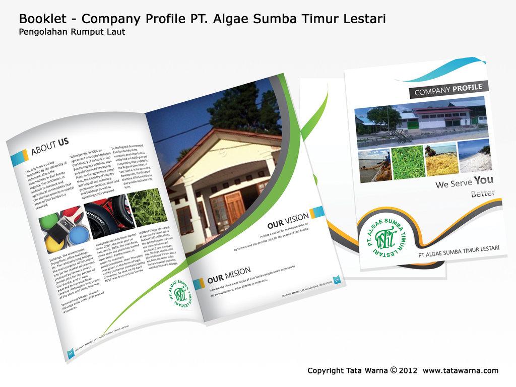 Contoh - Contoh Desain Company Profile Booklet Aneka Perusahaan