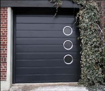 Porte de garage motorise sur mesure definition