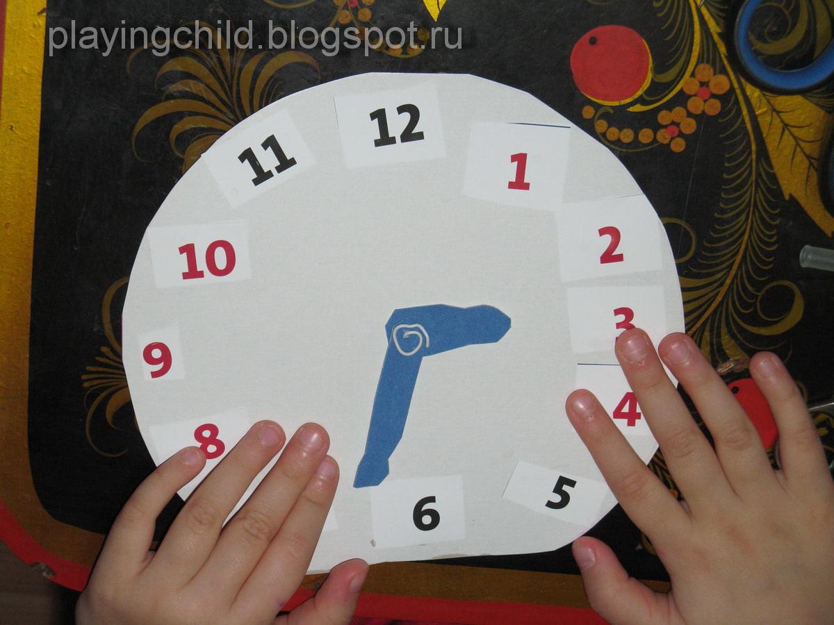 Сегодня хочу показать, как сделать часы своими руками для ребёнка 26
