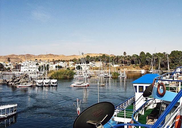 Aswan dock
