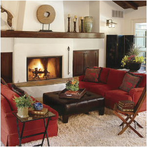 Southwestern Living Room Design Ideas