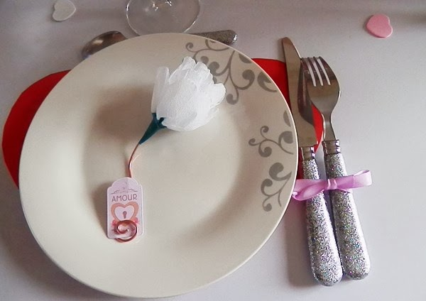 Table de Saint Valentin
