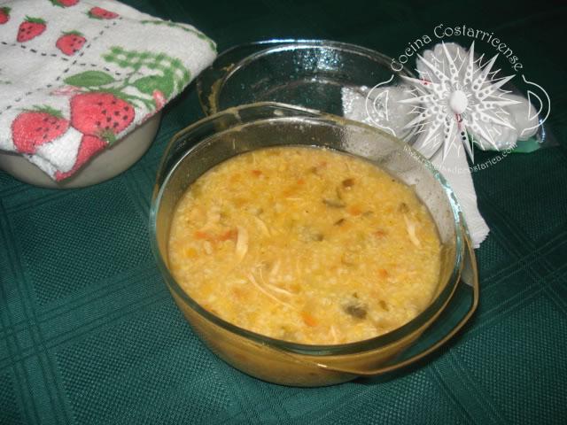 Cocina costarricense arroz de ma z for Como cocinar mazorcas de maiz