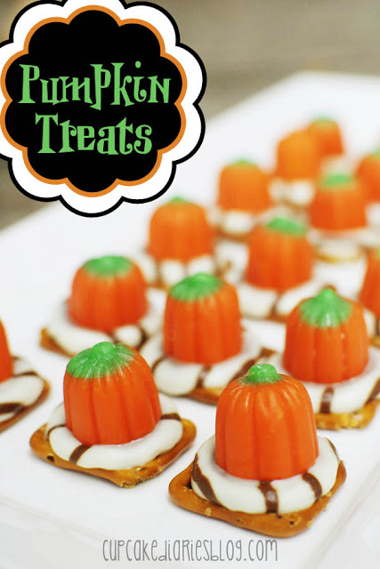 Pumpkin Treats by Cupcake Diaries