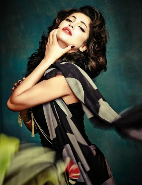 Shruti Haasan at Cineblitz Magazine Cover Page Photo Shoot in May 2015