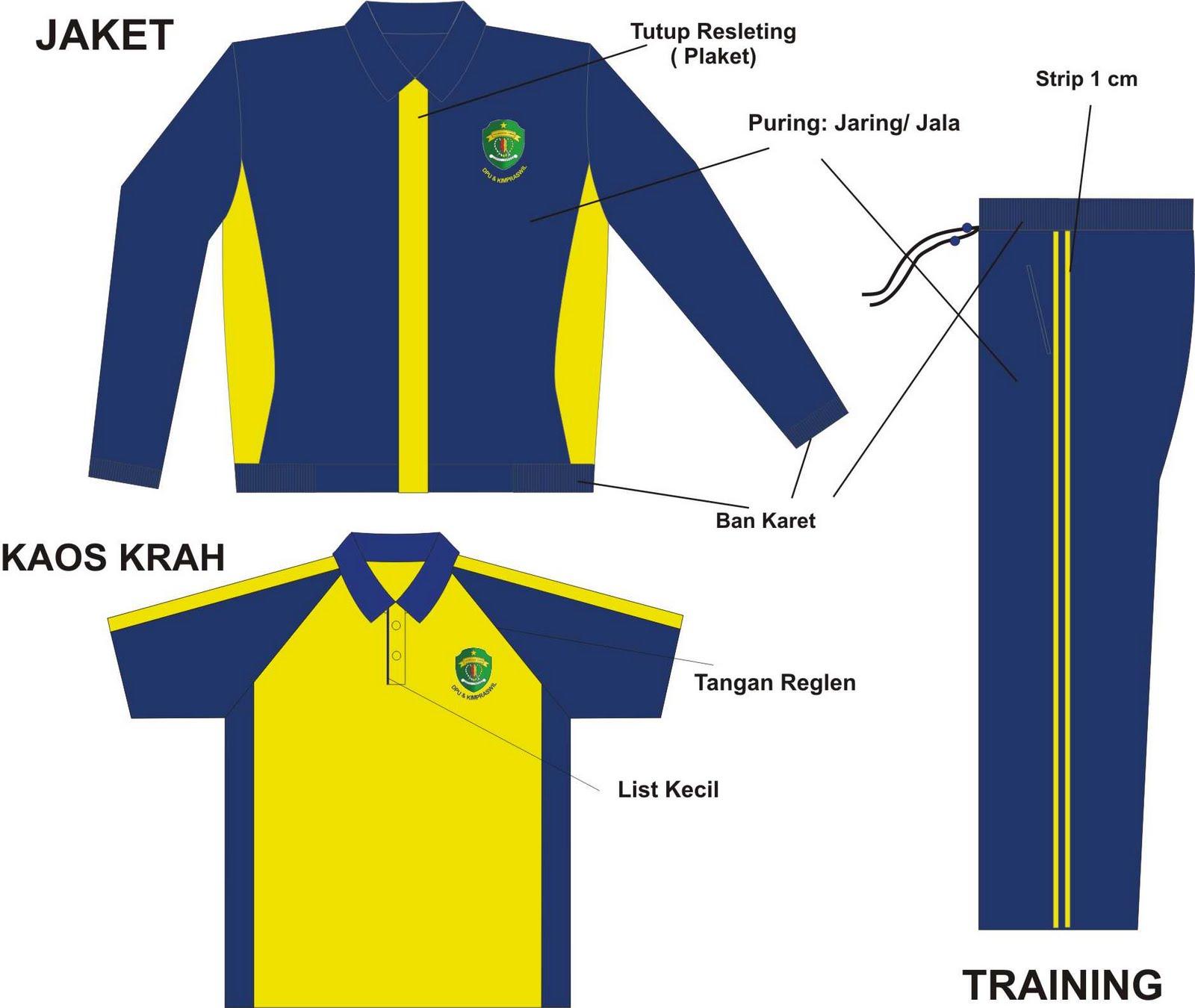 seragam olahraga: seragam olahraga