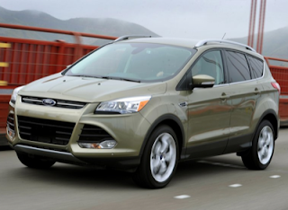 2013 Ford Escape green bridge