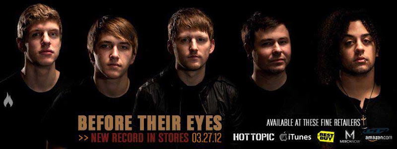 Before Their Eyes - Redemption 2012 hard rock band members 5 men