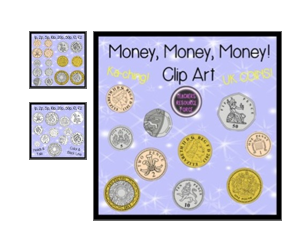 http://www.teacherspayteachers.com/Product/UK-Coins-1p-2p-5p-10p-20p-50p-1-2-color-black-line-1023698