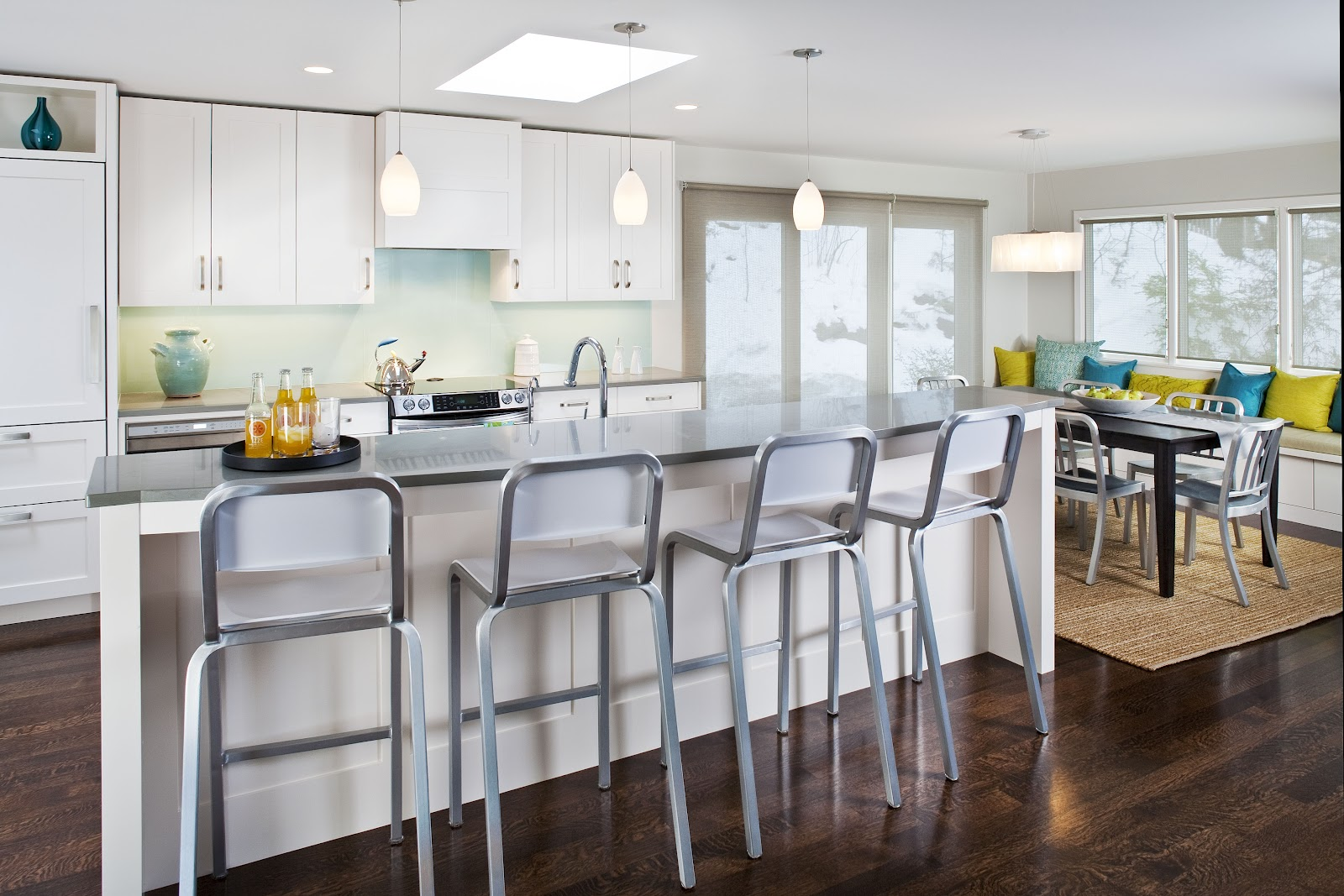 Kitchen No Wall Cabinets Cottage Modern Kitchen Of The Week 5 Steps To A Modern