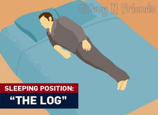 posisi-tidur-menyamping-log