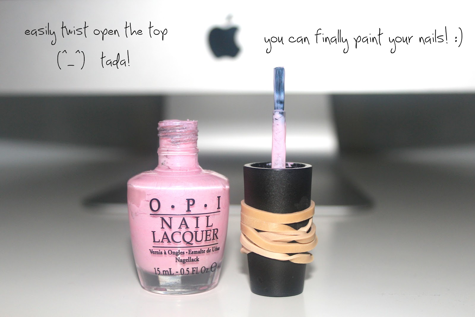 How to Open a Nail Polish Bottle - \'Vanessa Jhoy Blog