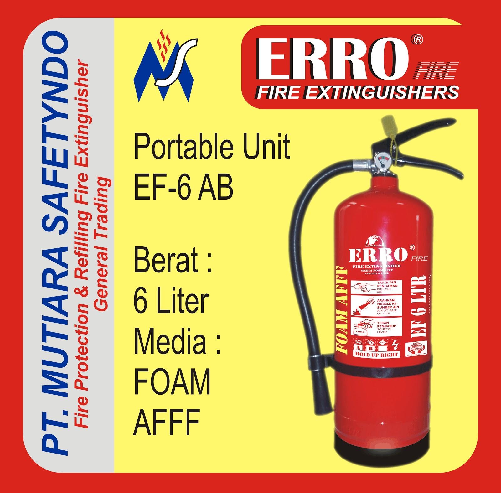 Tabung Pemadam Api | Tabung Apar Foam Afff 6 Liter