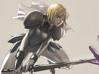 Claymore | Sword | Blonde Hair | Anime Girl