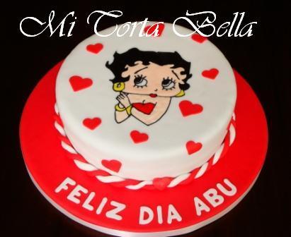 Mi Torta Bella: Torta de cumpleaños - Betty Boop