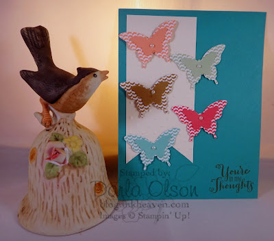 Best of Greetings, Butterfly punch, Stampin' Up!