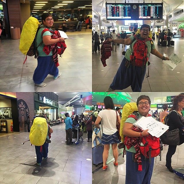 Sidang Media Rayyan Haries Terpaksa Turun Kapal Terbang ke India
