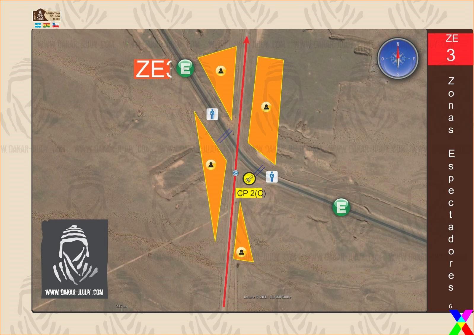 Zona de Espectadores 3 Jujuy - Dakar 2014