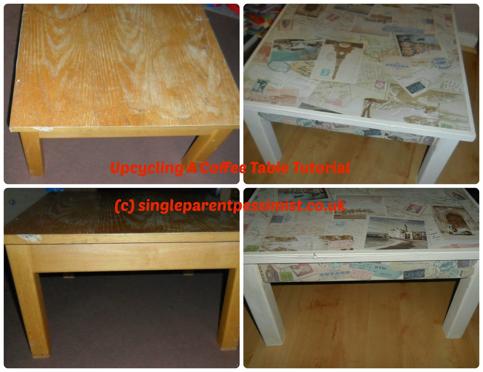 table diy upcycle decoupage wallpaper chalk paint