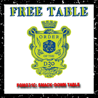 FGM031c: Smack-Down Table (Free d30 Table)