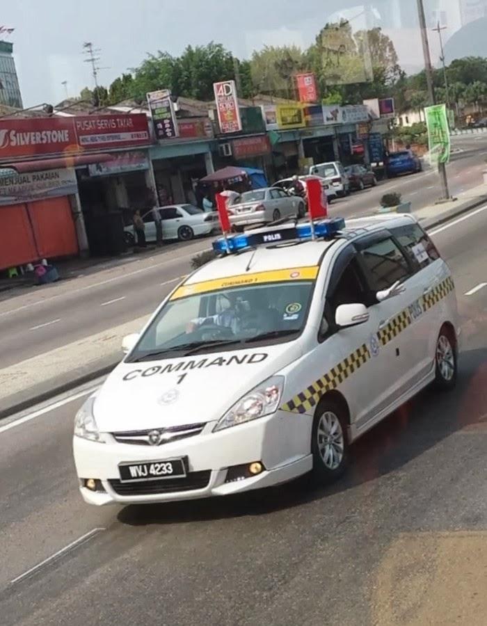 Proton Exora Police Car Commad 1