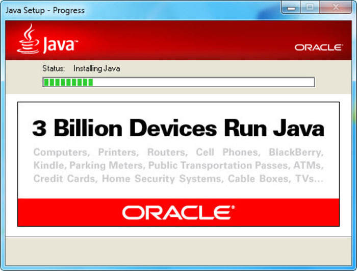 Download Java Runtime