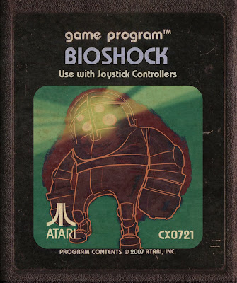 Cartucho de Atari Bioshock Big Daddy Retro