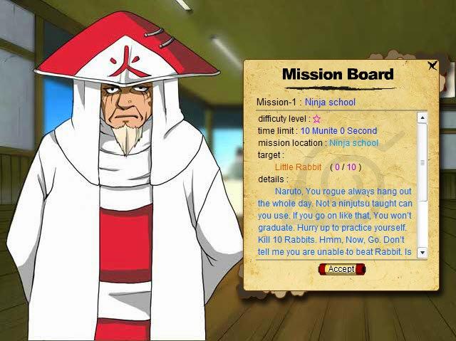 Game: Naruto War 1.1 Screenshot