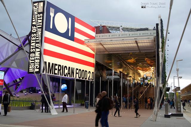 Exposition universelle Milano expo 2015 Pavillon USA