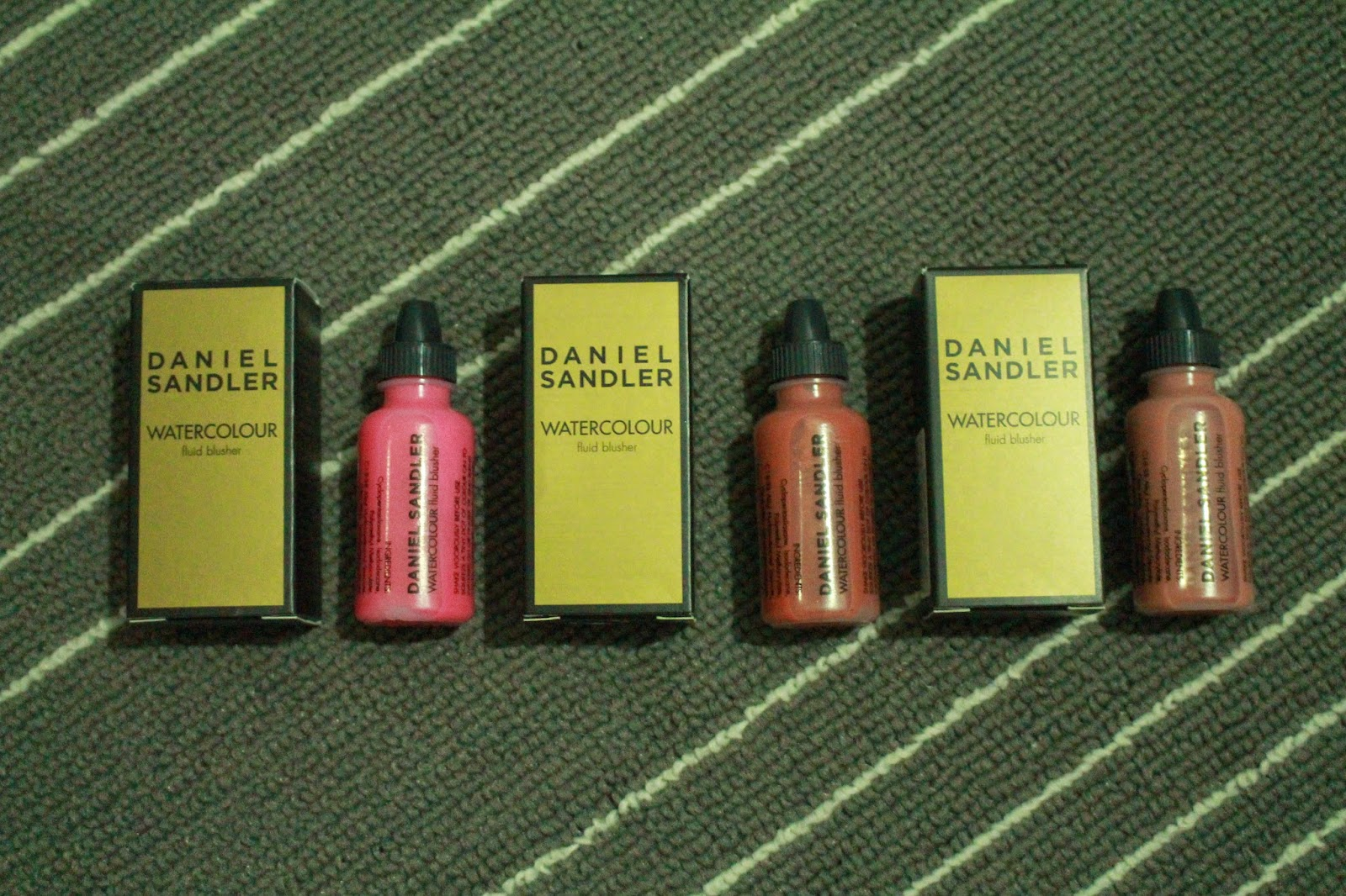Daniel Sandler Watercolour Fluid Blushers (Acid, Spicey and Glamour)