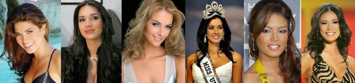 Misses Universo:02, 03, 04, 05, 06 e 07