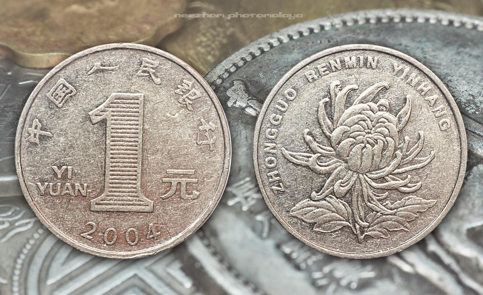 China coin 1 Yuan 2004