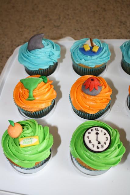 Dazzle Cakes: Jimmy Buffett Cupcakes
