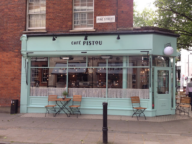 Cafe, Finsbury, London EC1